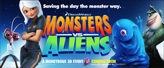 Monsters vs. Aliens Poster #10