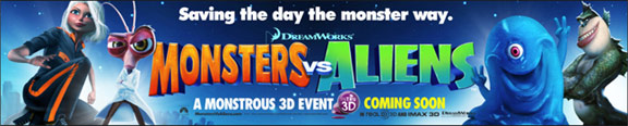 Monsters vs. Aliens Poster #11
