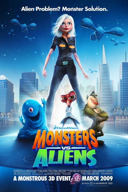 Monsters vs. Aliens Poster #13