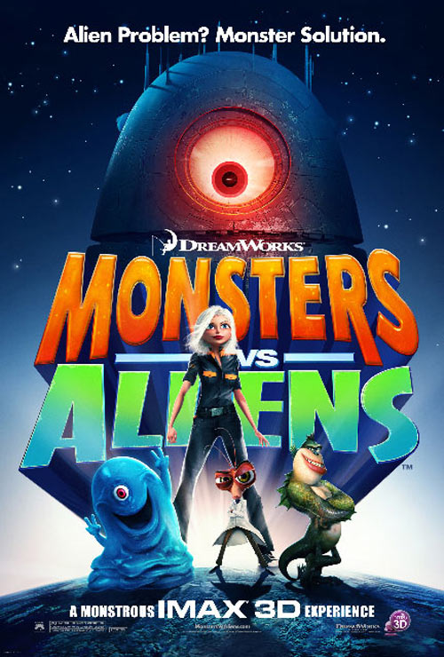 Monsters vs. Aliens Poster #14