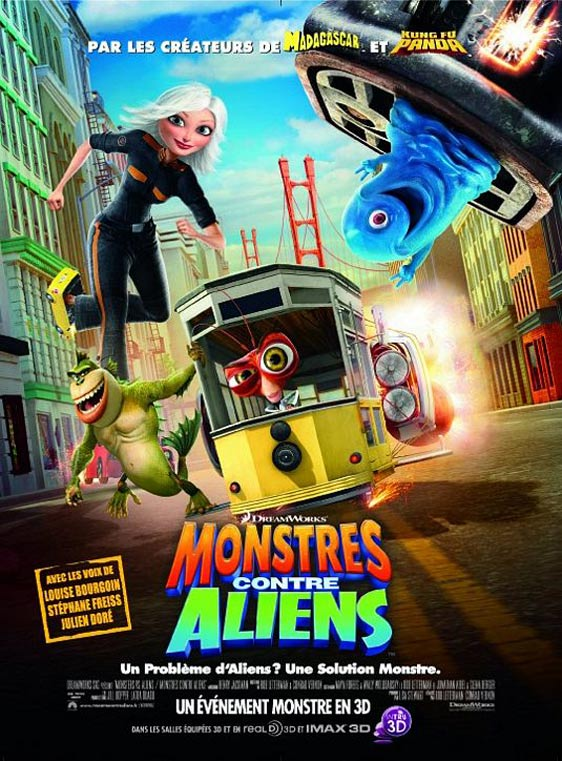 Monsters vs. Aliens Poster #15