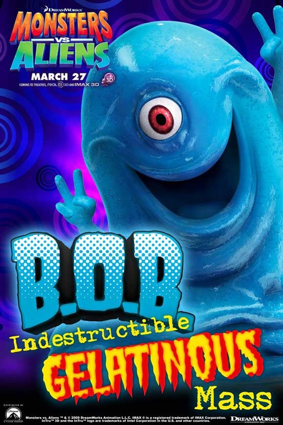 Monsters vs. Aliens Poster #16