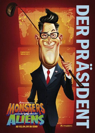 Monsters vs. Aliens Poster #20