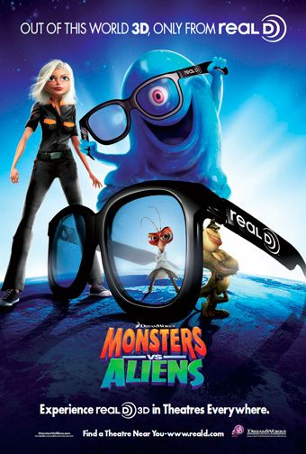 Monsters vs. Aliens Poster #29