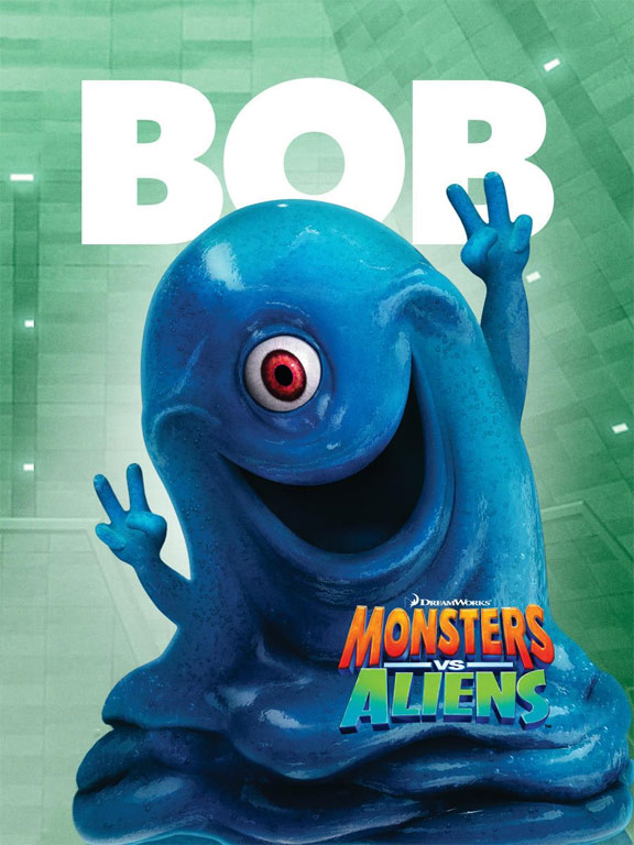 Monsters vs. Aliens Poster #3