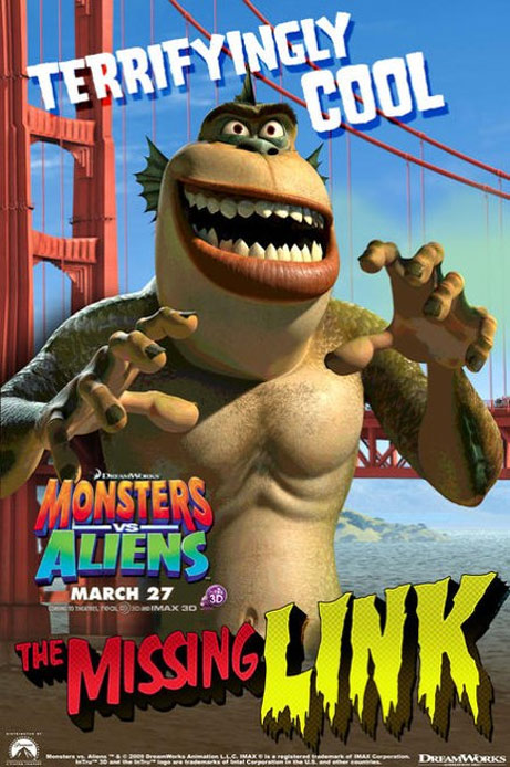 Monsters vs. Aliens Poster #9