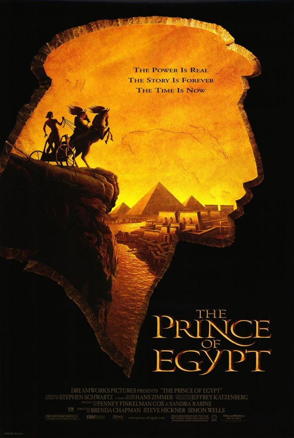The Prince of Egypt Poster