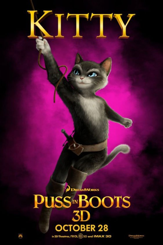 Puss in Boots Poster #5