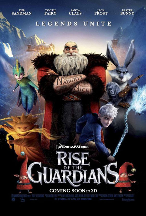 Rise of the Guardians Poster #10