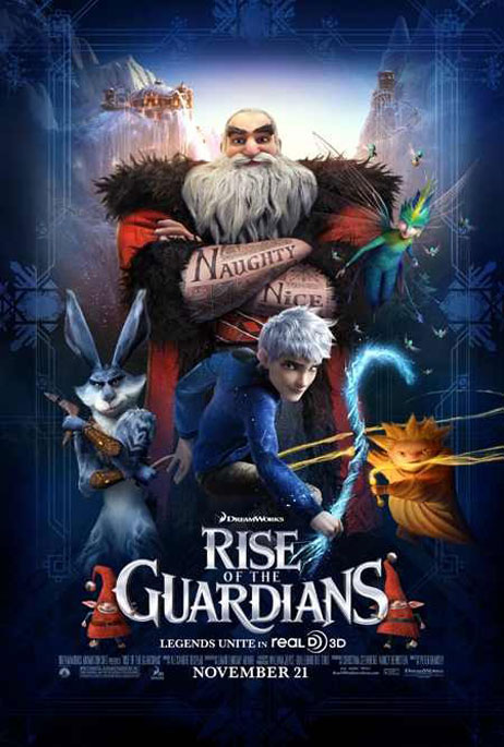 Rise of the Guardians Poster #12