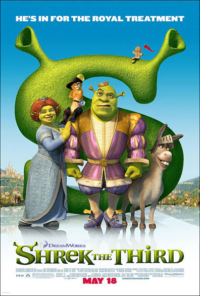 Shrek the Third Poster #1