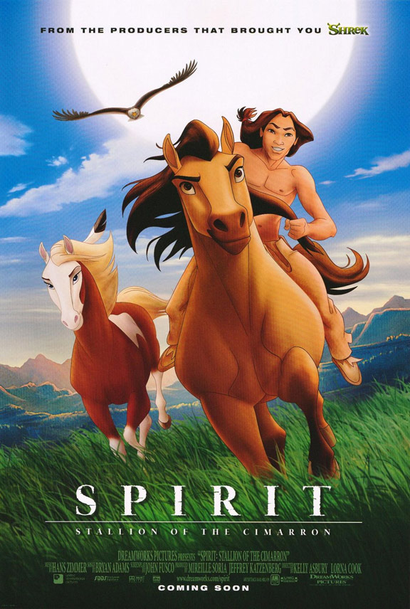 Spirit: Stallion of the Cimarron Poster #1