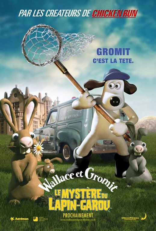 Wallace & Gromit: The Curse of the Were-Rabbit Poster #3