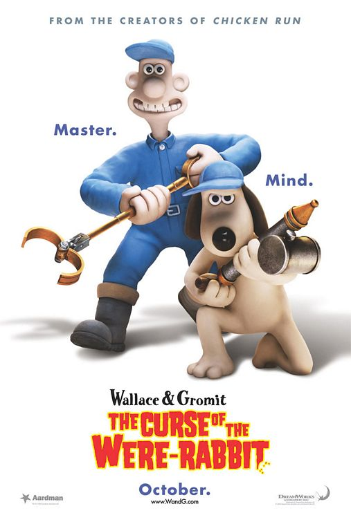 Wallace & Gromit: The Curse of the Were-Rabbit Poster #1