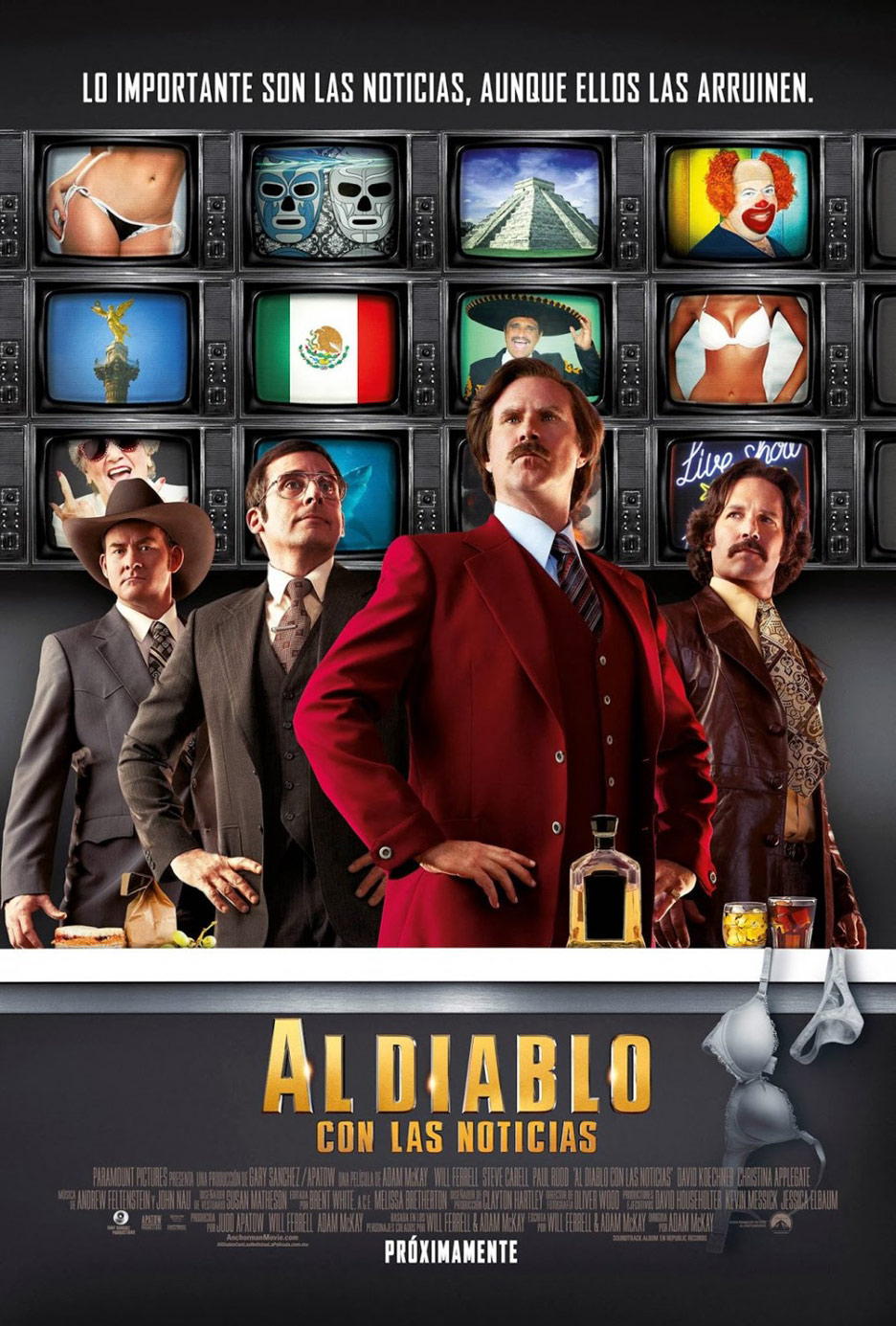 Anchorman 2: The Legend Continues Poster #13