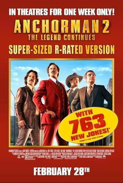 Anchorman 2: The Legend Continues Poster #15