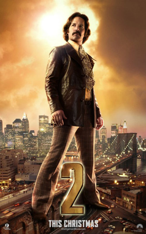 Anchorman 2: The Legend Continues Poster #4