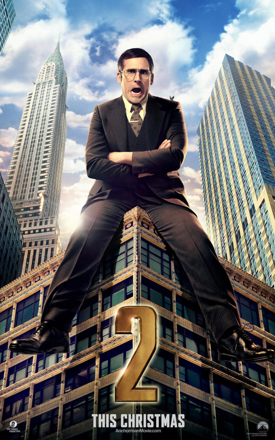 Anchorman 2: The Legend Continues Poster #5