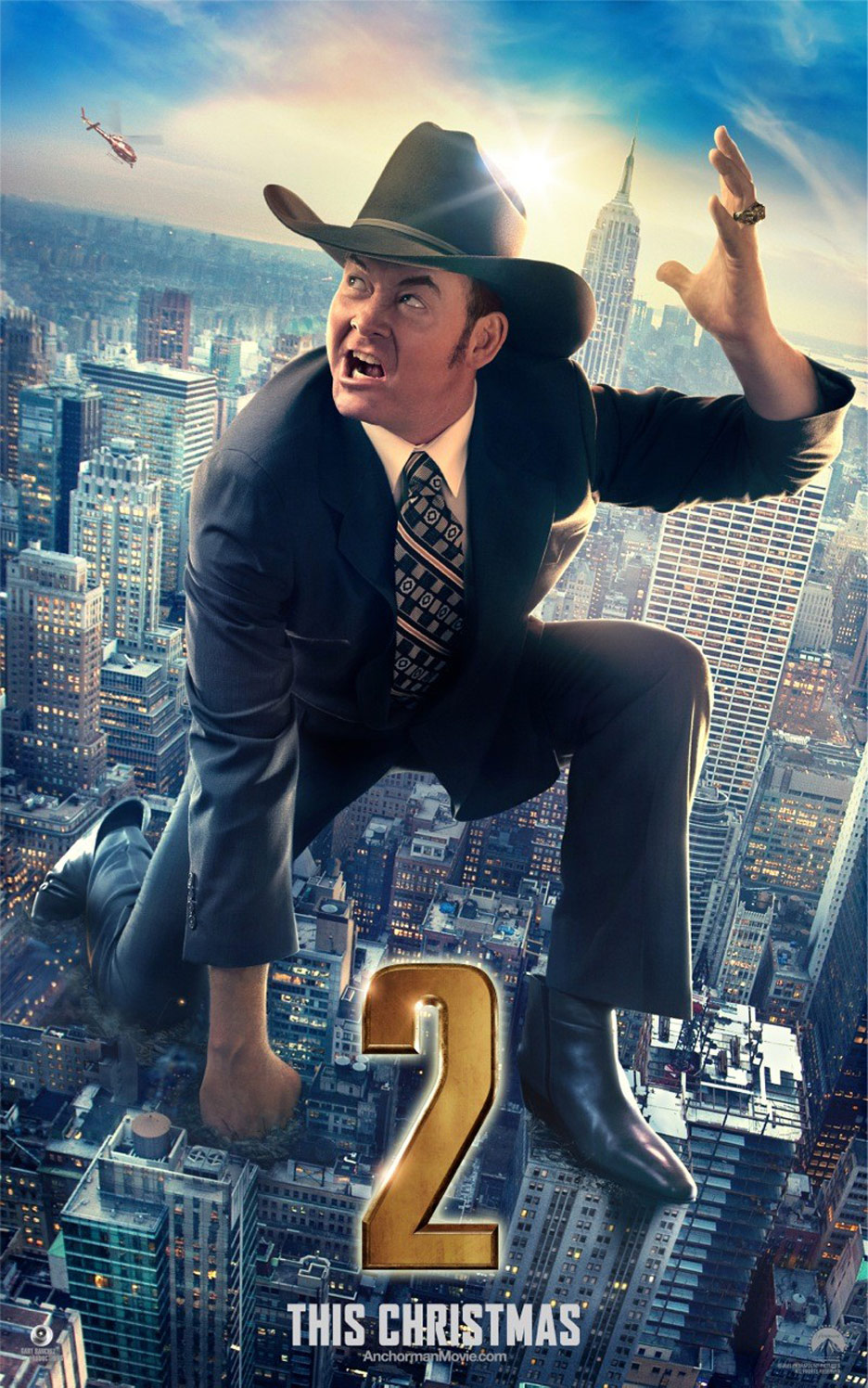 Anchorman 2: The Legend Continues Poster #7