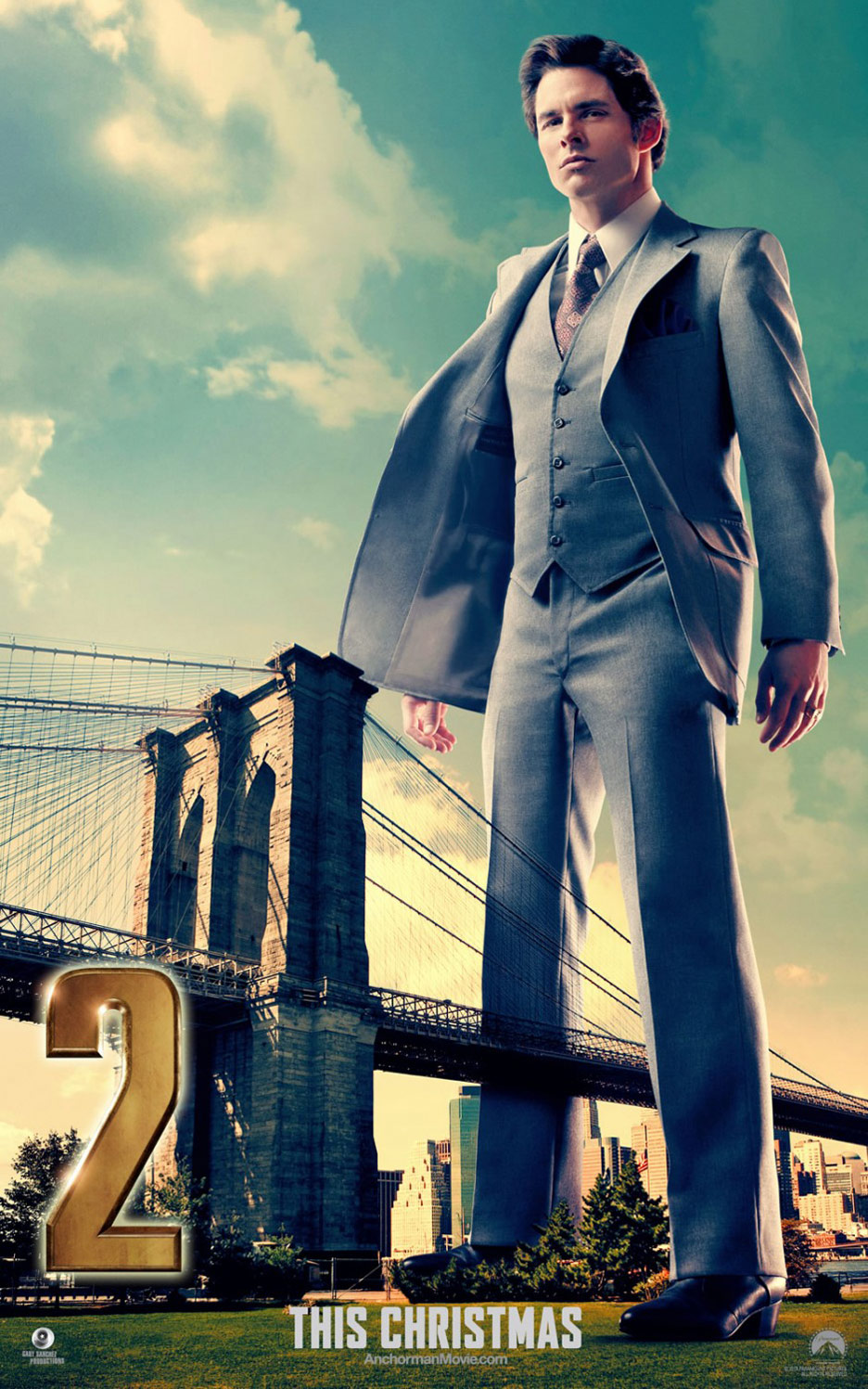 Anchorman 2: The Legend Continues Poster #9
