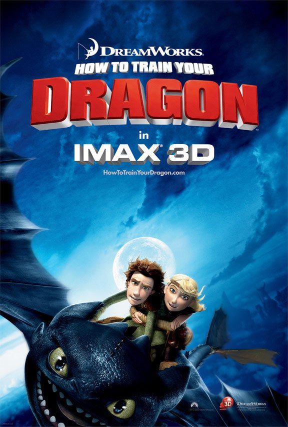 How to Train Your Dragon Poster #3