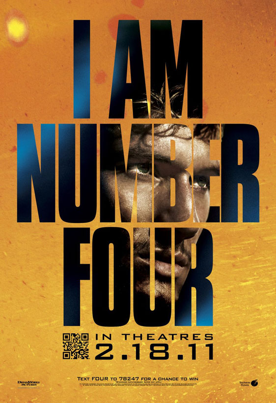 I Am Number Four Poster #2