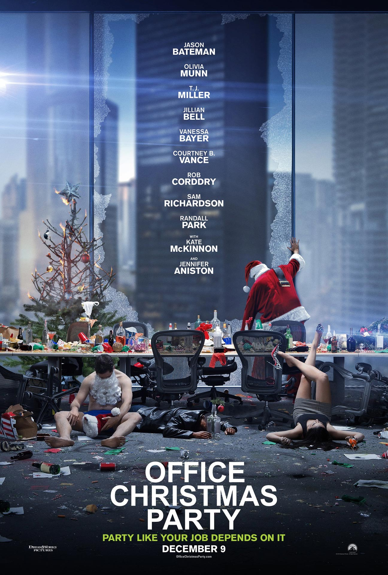 Download Office Christmas Party 2016 movie for free