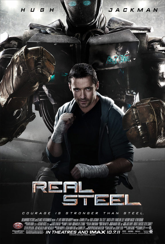 Real Steel Poster #3