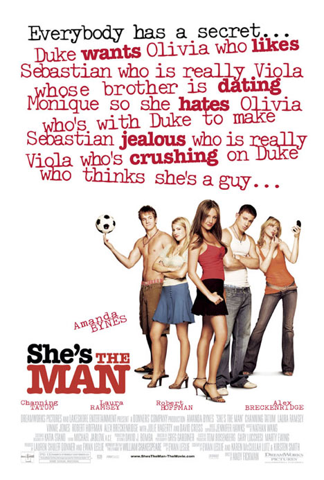 She's the Man Poster #1