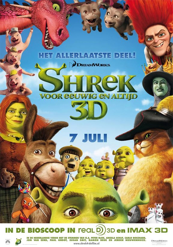 Shrek Forever After Poster #12