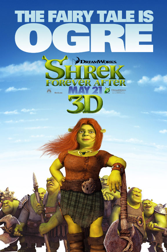 Shrek Forever After Poster #5