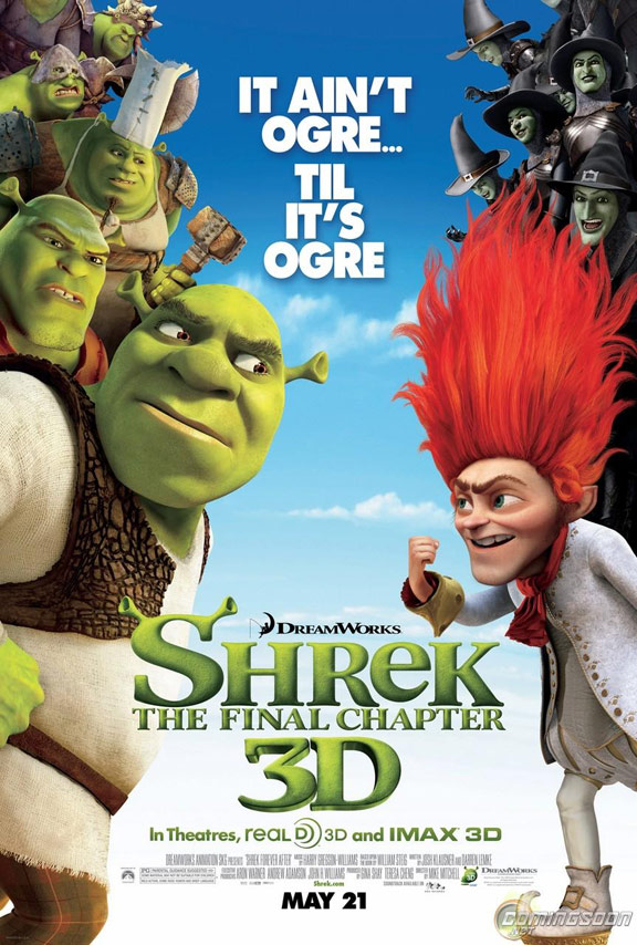 Shrek Forever After Poster #8