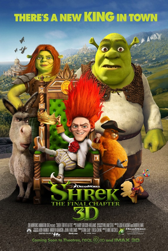 Shrek Forever After Poster #9