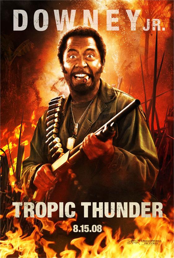 Tropic Thunder Poster #2