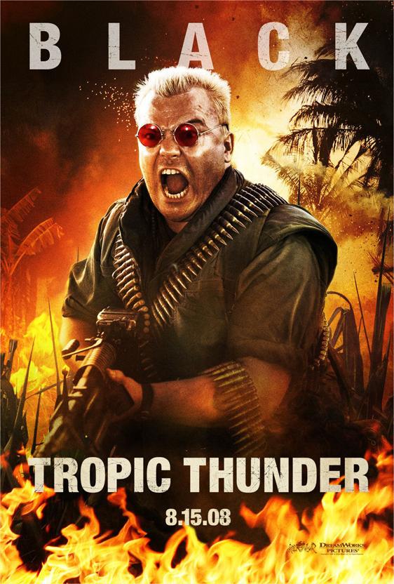 Tropic Thunder Poster #3