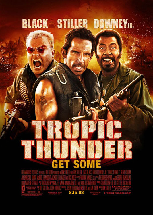 Tropic Thunder Poster #4
