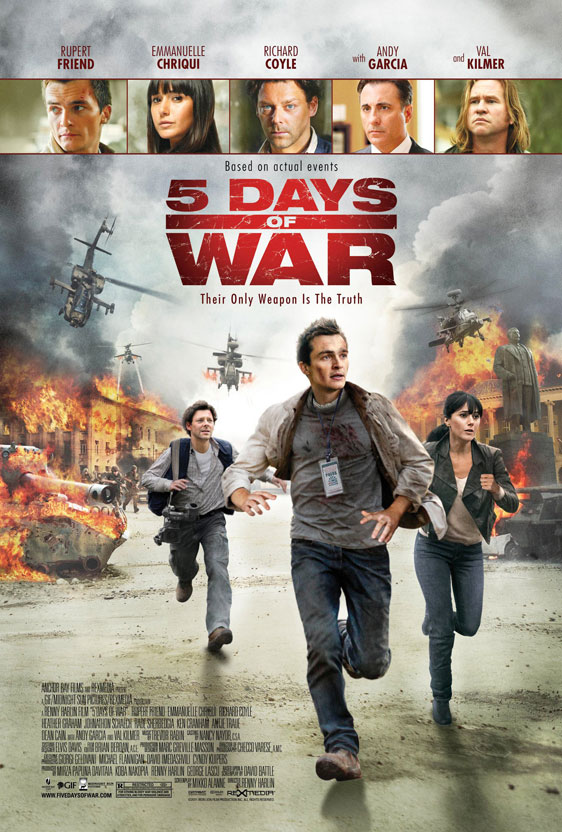 5 Days of War Poster #2