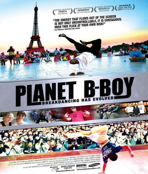 Planet B-Boy Poster