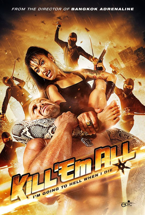 Kill 'Em All Poster #1