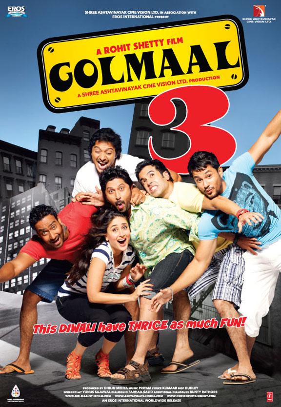 Golmaal 3 Poster #2