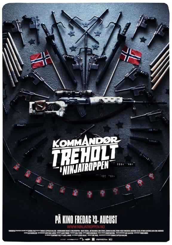 Norwegian Ninja (Kommandør Treholt & ninjatroppen) Poster