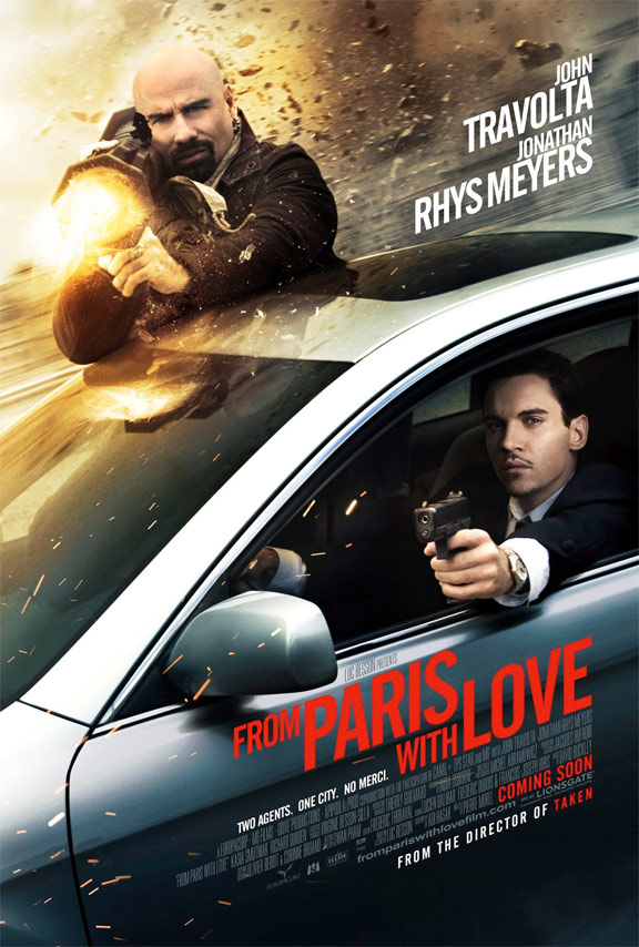 From Paris With Love Poster #6