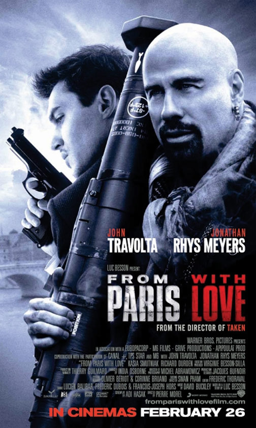 From Paris With Love Poster #8