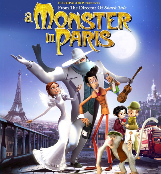 A Monster in Paris Poster #1