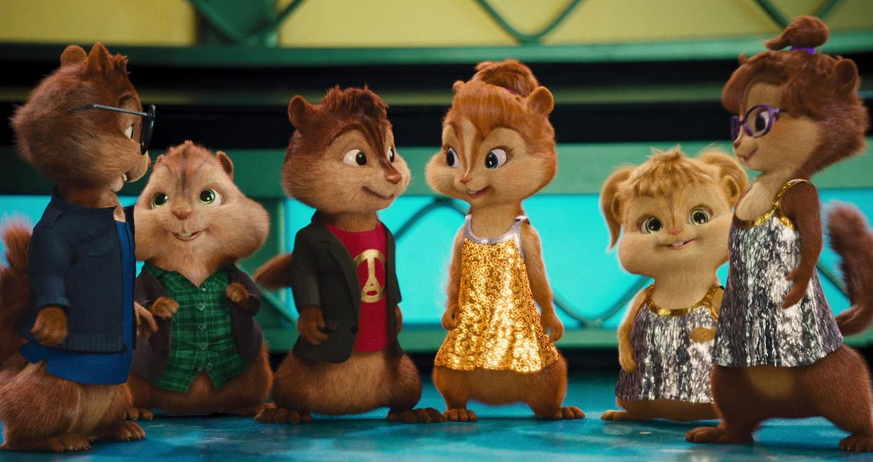 Alvin and the Chipmunks: The Squeakquel Trailer Screencap