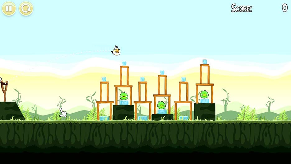 Angry Birds Game Screencap