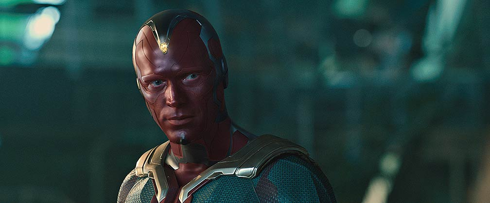 Vision in Avengers: Age of Ultron