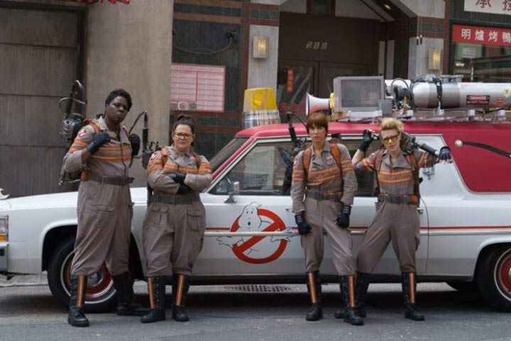 Ghostbuster 2016 Girls