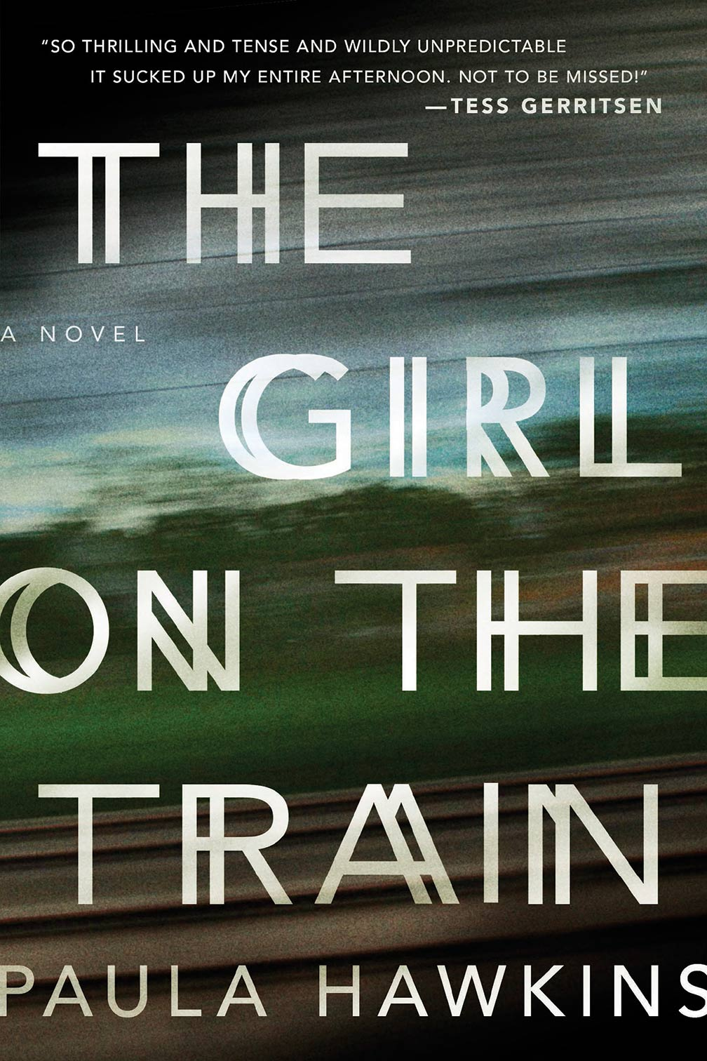 The Girl on the Train - Novel Cover