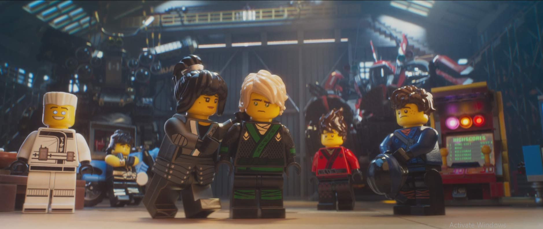 The Lego Ninjago Movie Trailer 2017